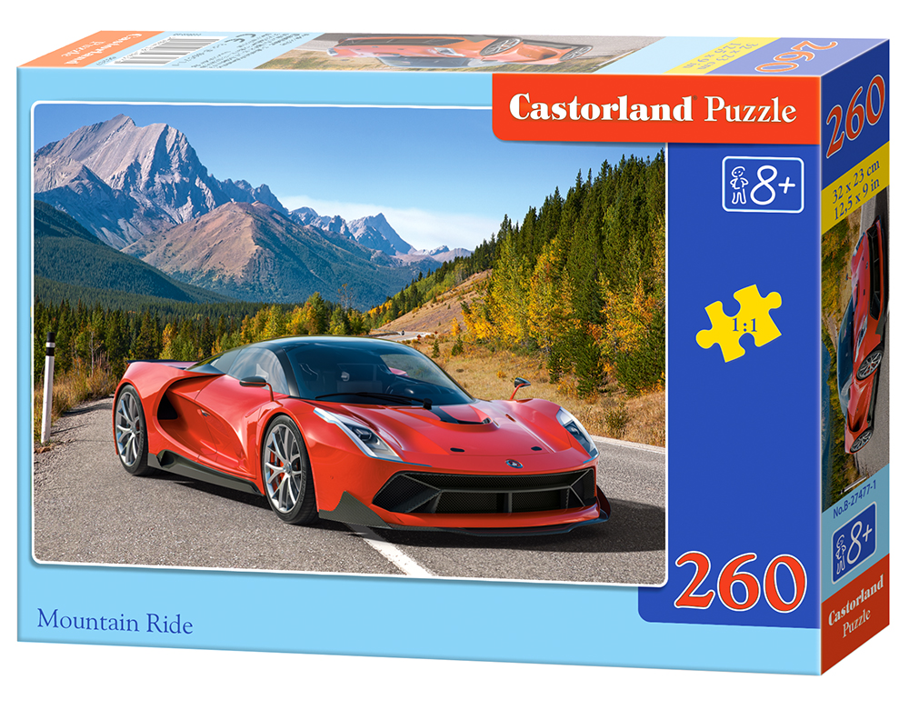Puzzle CAstorland Mountain Ride 260 dielikov