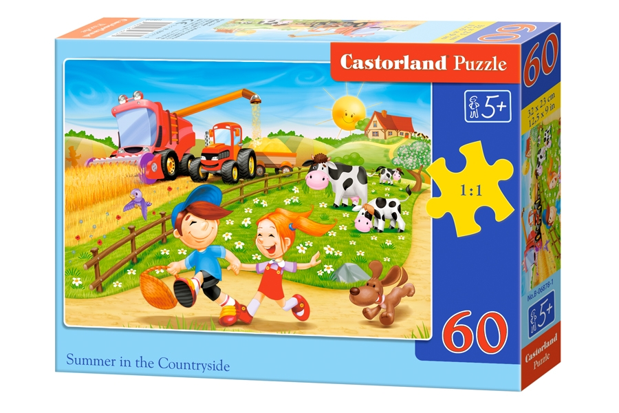 Puzzle Castorland Summer in the Countryside 60 Dielikov