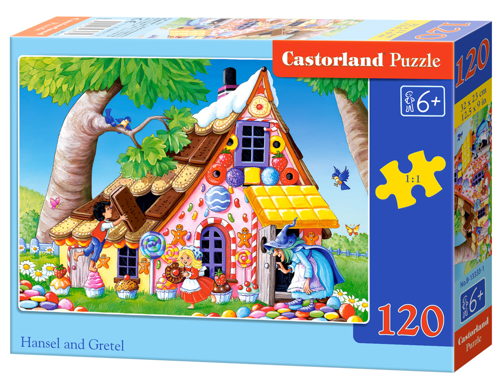 Castorland Puzzle Hansel and Gretel 120 Dielikov