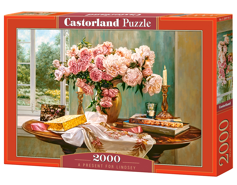 Puzzle Castorland A Ppresent for Lindsey 2000 Dielikov