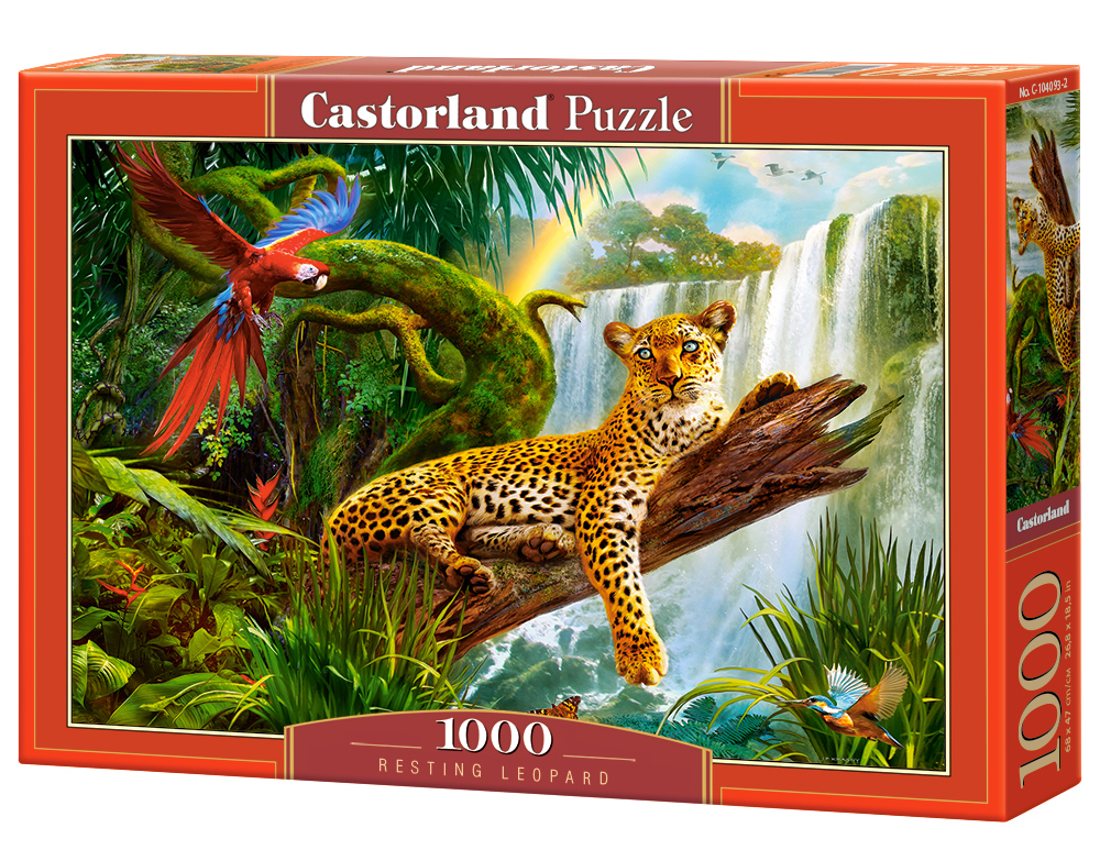 Castorland Puzzle Resting Leopard 1000 Dielikov