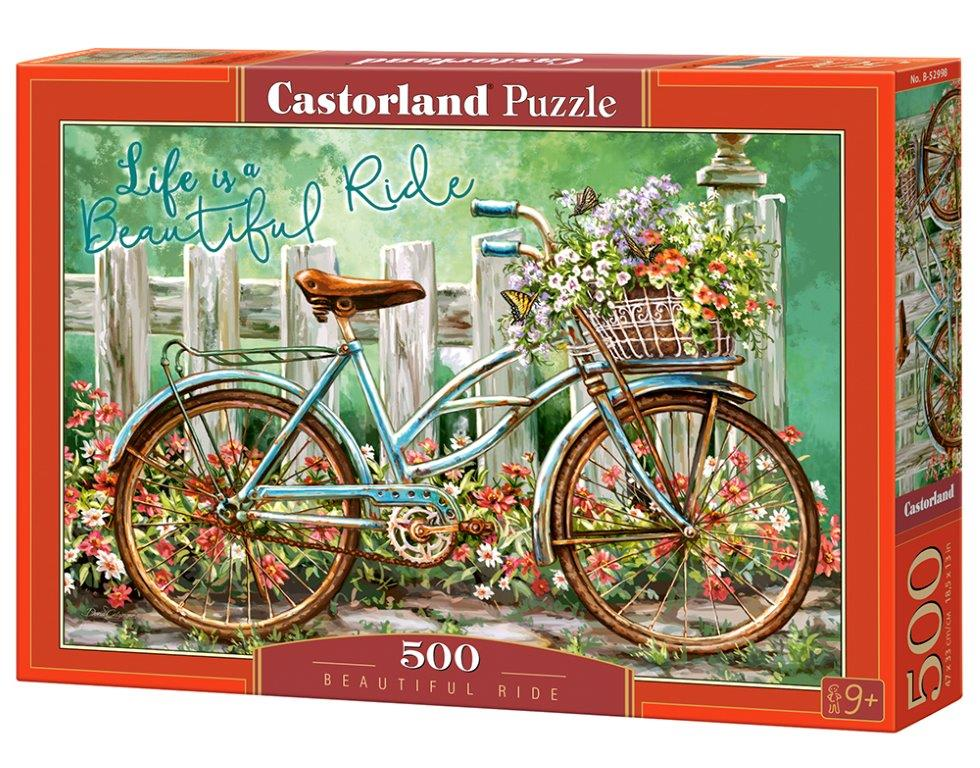 Castorland Puzzle Beautiful Ride 500 Dielikov