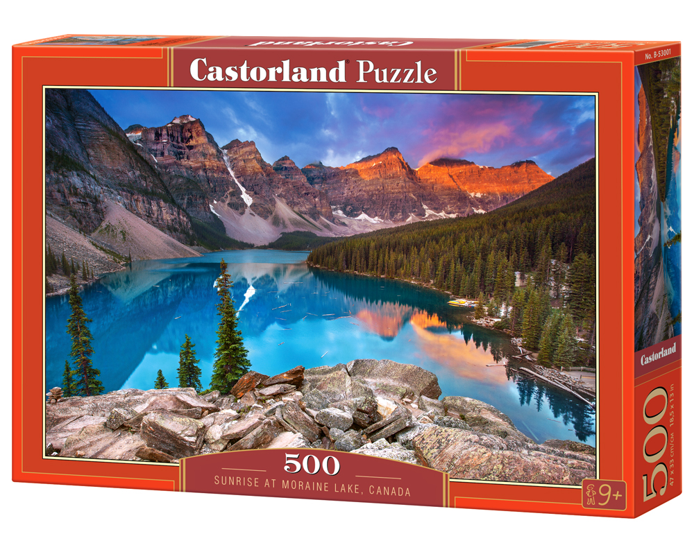 Castorland Puzzle Sunrise at Moraine Lake, Canada 500 Dielikov
