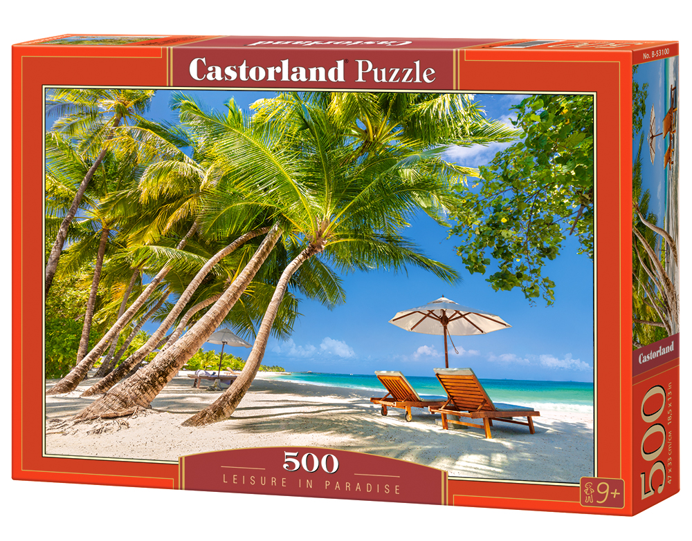 Castorland Puzzle Leisure in Paradise 500 Dielikov