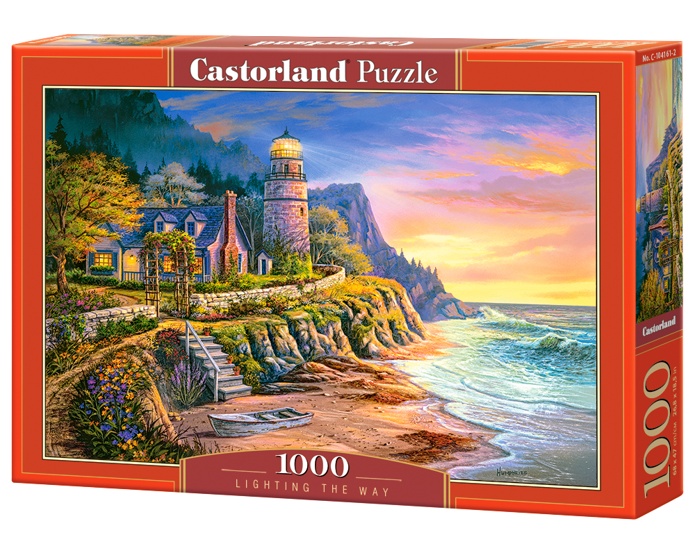 Castorland Puzzle Lighting the Way 1000 Dielikov