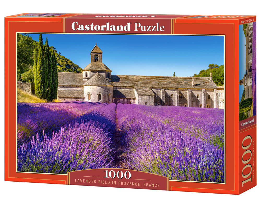 Castorland Puzzle Lavender Field in Provence, France 1000 Dielikov