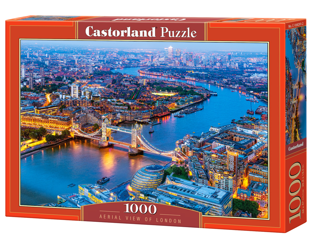 Castorland Puzzle Aerial View of London 1000 Dielikov