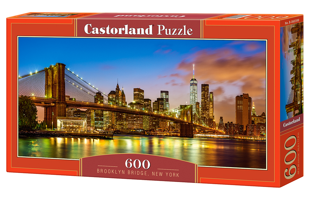 Castorland Puzzle Brooklyn Bridge, New York 600 Dielikov