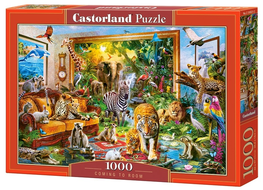 Puzzle Castorland Coming to Room   1000 Dielikov