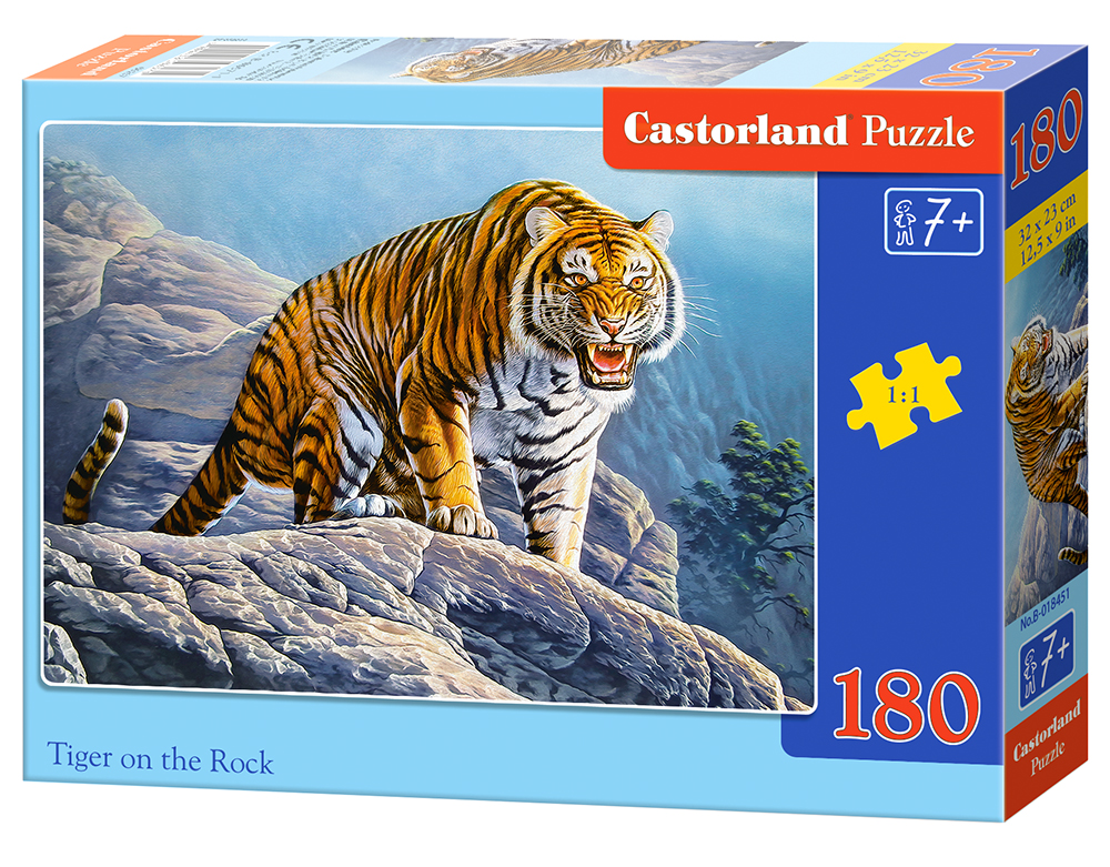 Castorland Puzzle Tiger on the Rock 180 dielikov