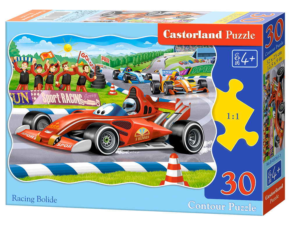 Puzzle Castorland Racing Bolide  30 Dielikov