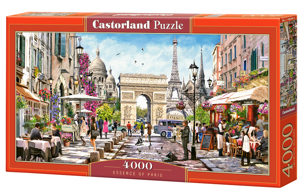 Puzzle Castorland Essence of Paris 4000 Dielikov