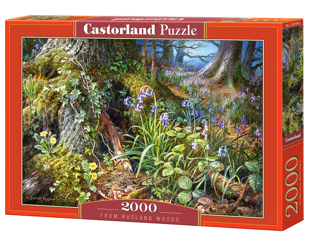 Puzzle Castorland From Rusland Woods 2000 Dielikov