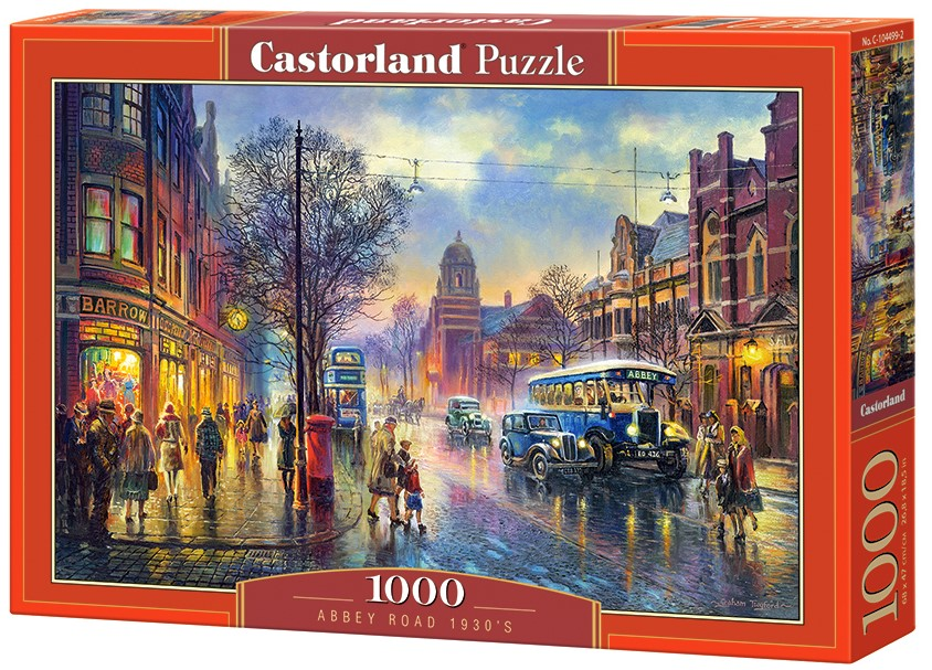 Puzzle Castorland Abbey Road 1930's 1000 Dielikov