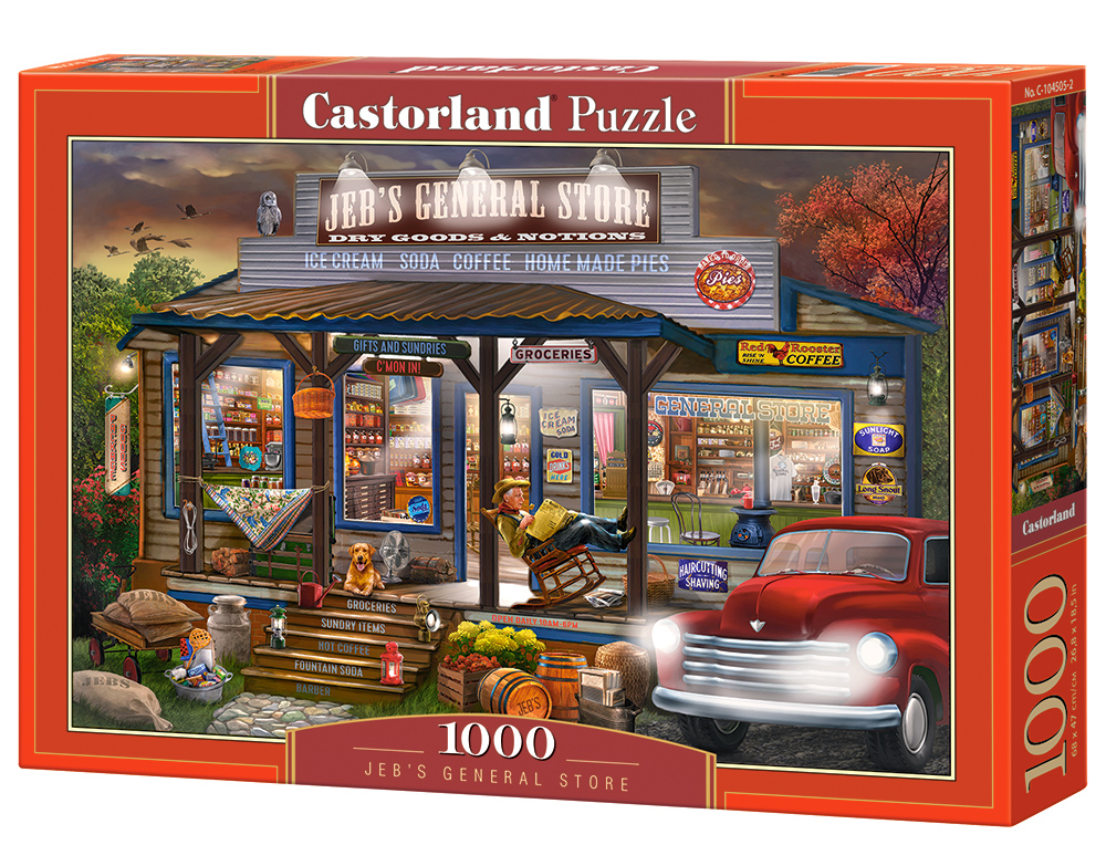Puzzle Castorland Jeb's General Store 1000 Dielikov