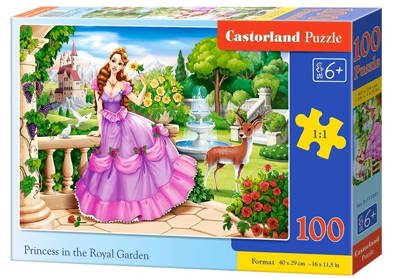 Puzzle Castorland Princess in the Royal Garden 100 DIelikov