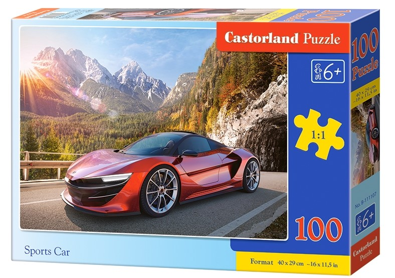 Puzzle Castorland Sports Car 100 DIelikov