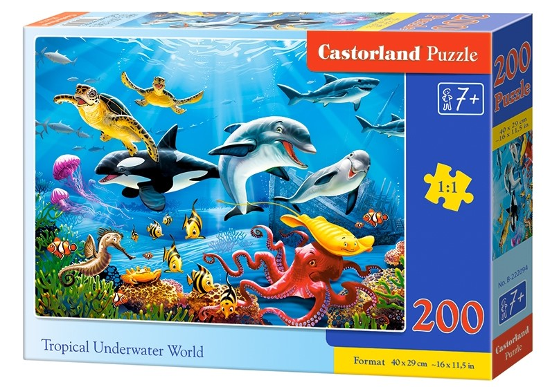 Puzzle Castorland Tropical Underwater World 200 dielikov
