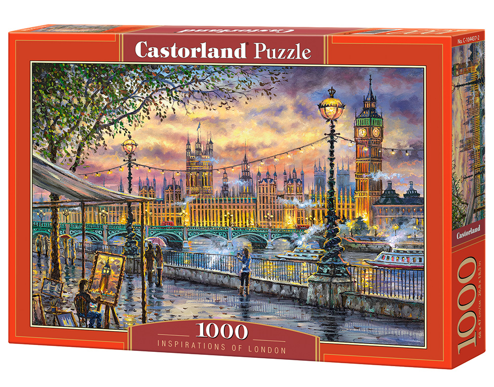 Puzzle Castorland Inspirations of London 1000 Dielikov