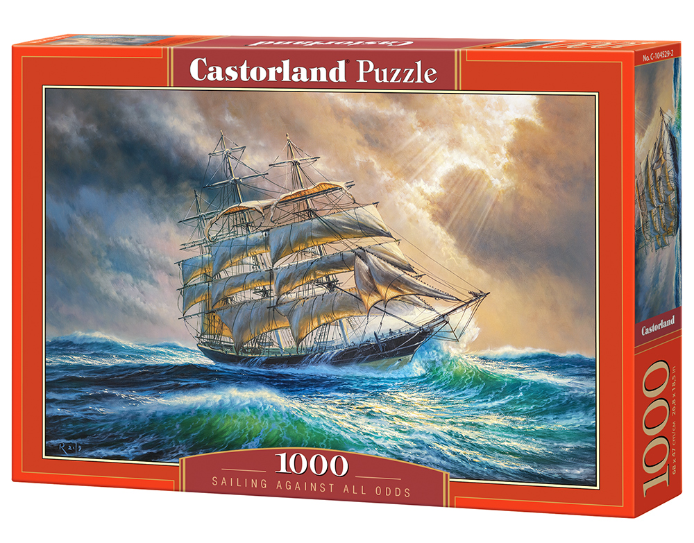 Puzzle Castorland Sailing Against All Odds  1000 Dielikov
