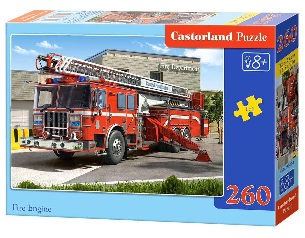 Puzzle Castorland Fire Engine 260 dielikov