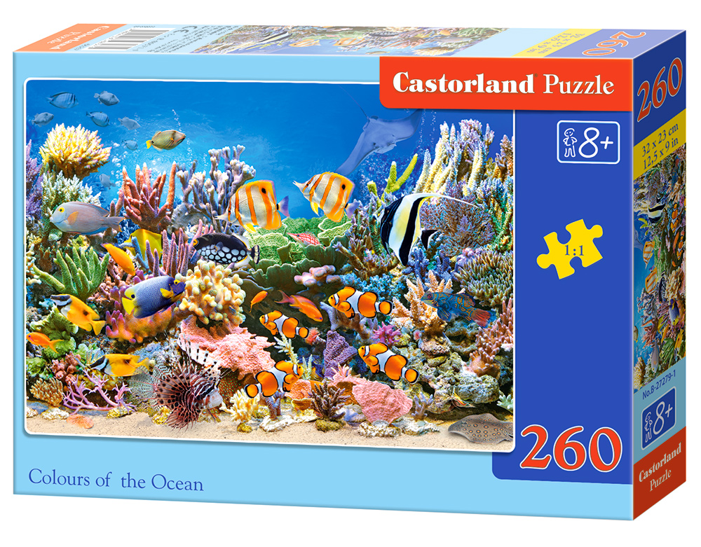 Puzzle Castorland Colours of the Ocean 260 dielikov