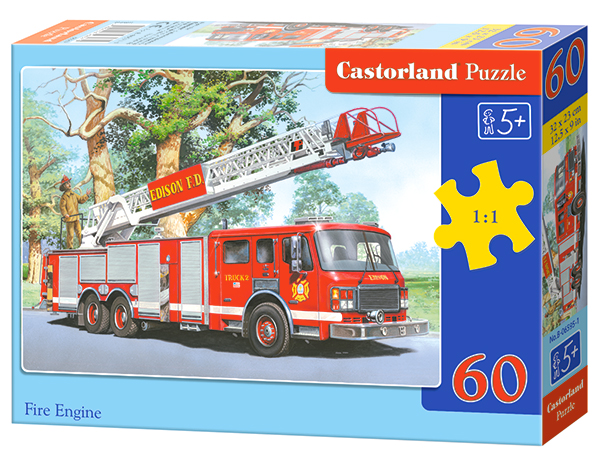 Puzzle Castorland Fire Engine 60 Dielikov