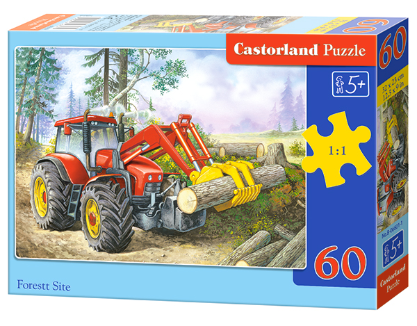 Puzzle Castorland Forest Site 60 Dielikov