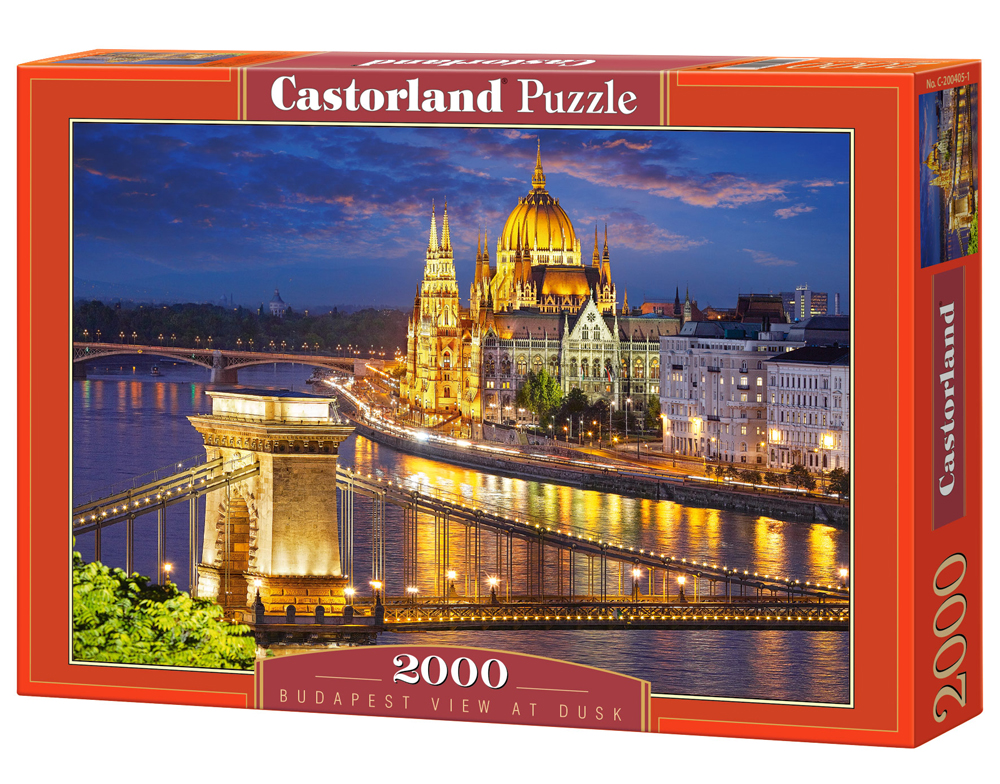 Puzzle Castorland Budapest view at dusk 2000 Dielikov