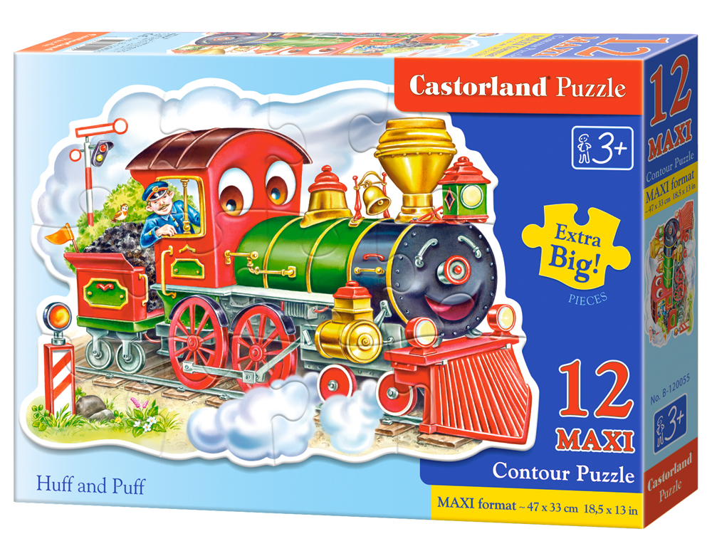 Puzzle Castorland Huff and Puff 12 dielikov