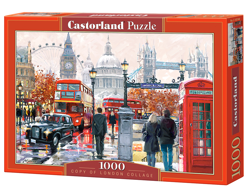Puzzle Castorland London Collage 1000 Dielikov