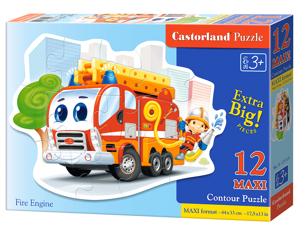 Puzzle Castorland Fire Engine 12 dielikov