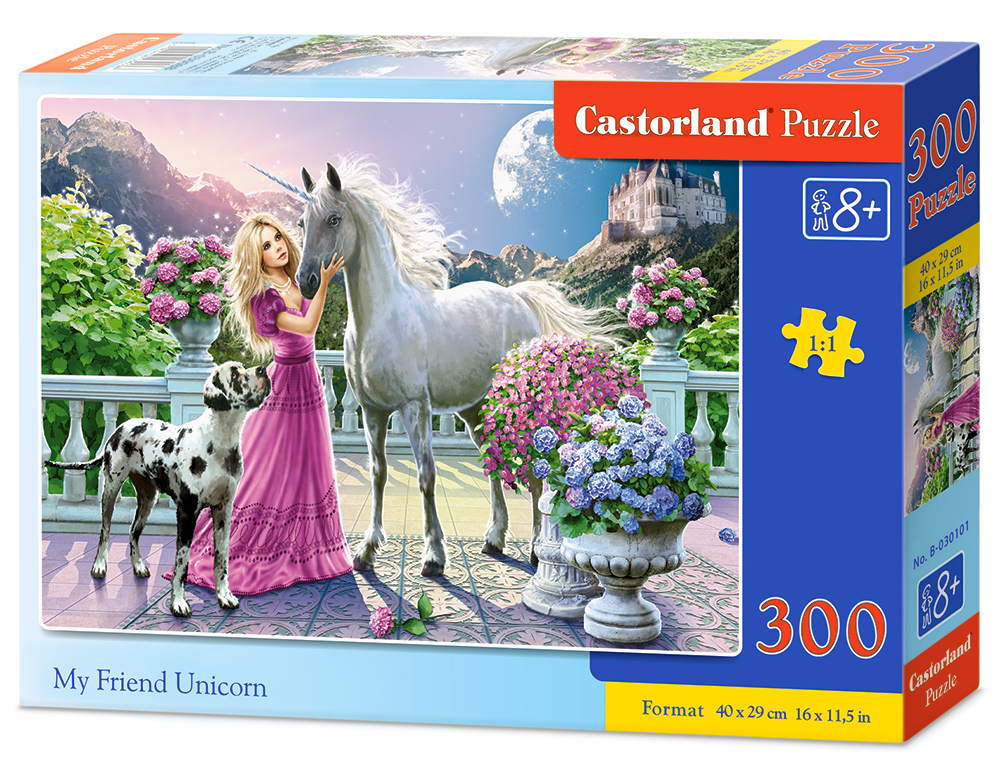 Castorland Puzzle My Friend Unicorn 300 dielikov