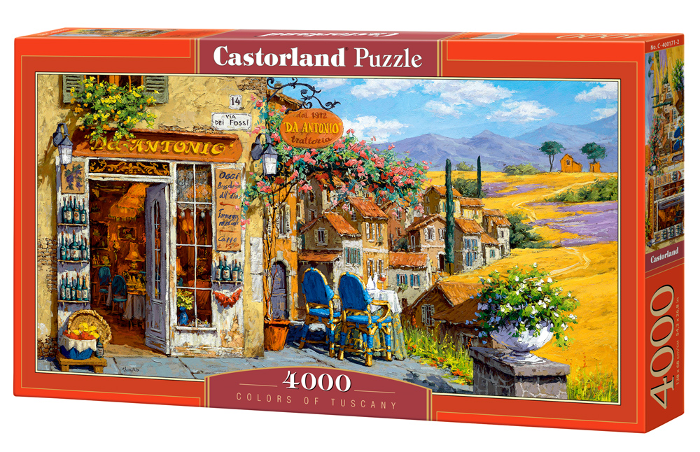Puzzle Castorland Colors of Tuscany 4000 Dielikov