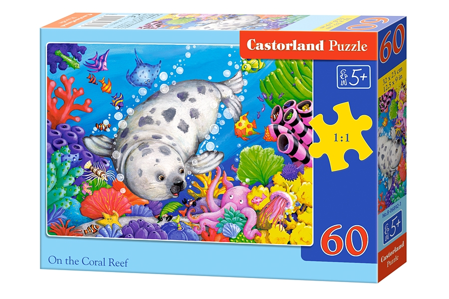 Puzzle Castorland On the Coral Reef 60 Dielikov