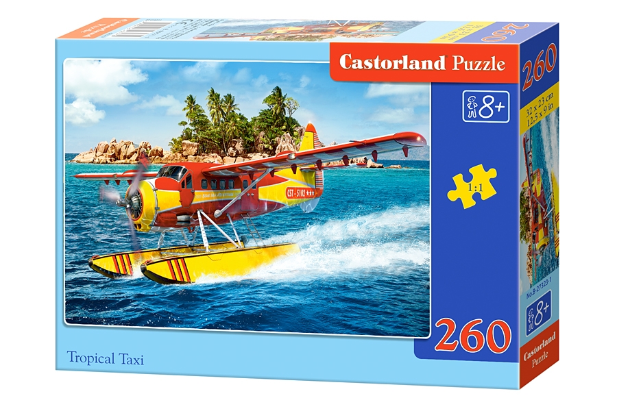 Puzzle Castorland Tropical Taxi 260 dielikov