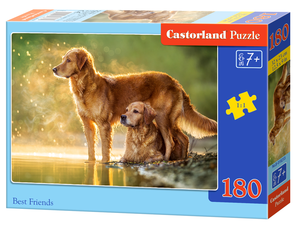 Castorland Puzzle Best Friends 180 dielikov
