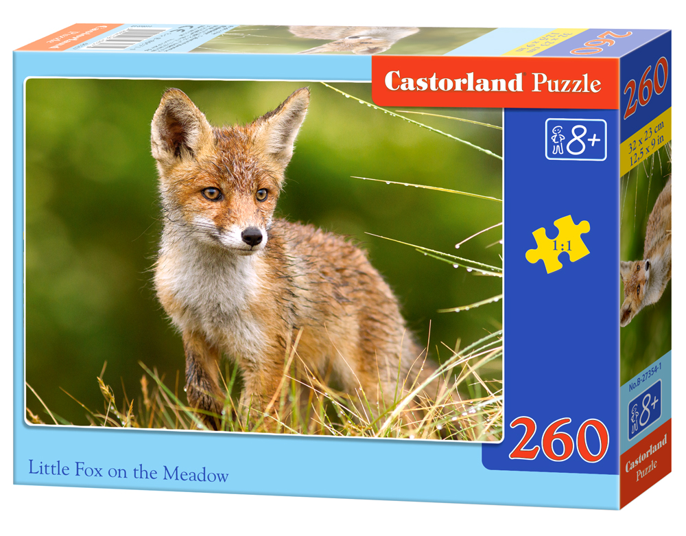 Puzzle Castorland Little Fox on the Meadow 260 dielikov