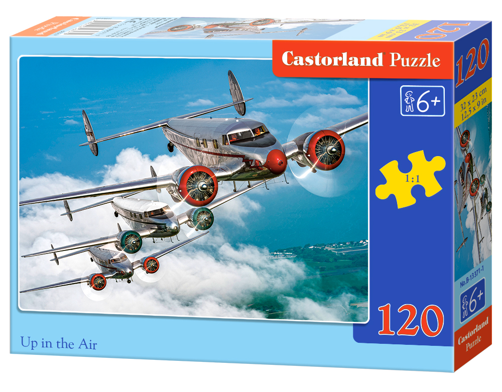 Castorland Puzzle Up in the Air 120 Dielikov