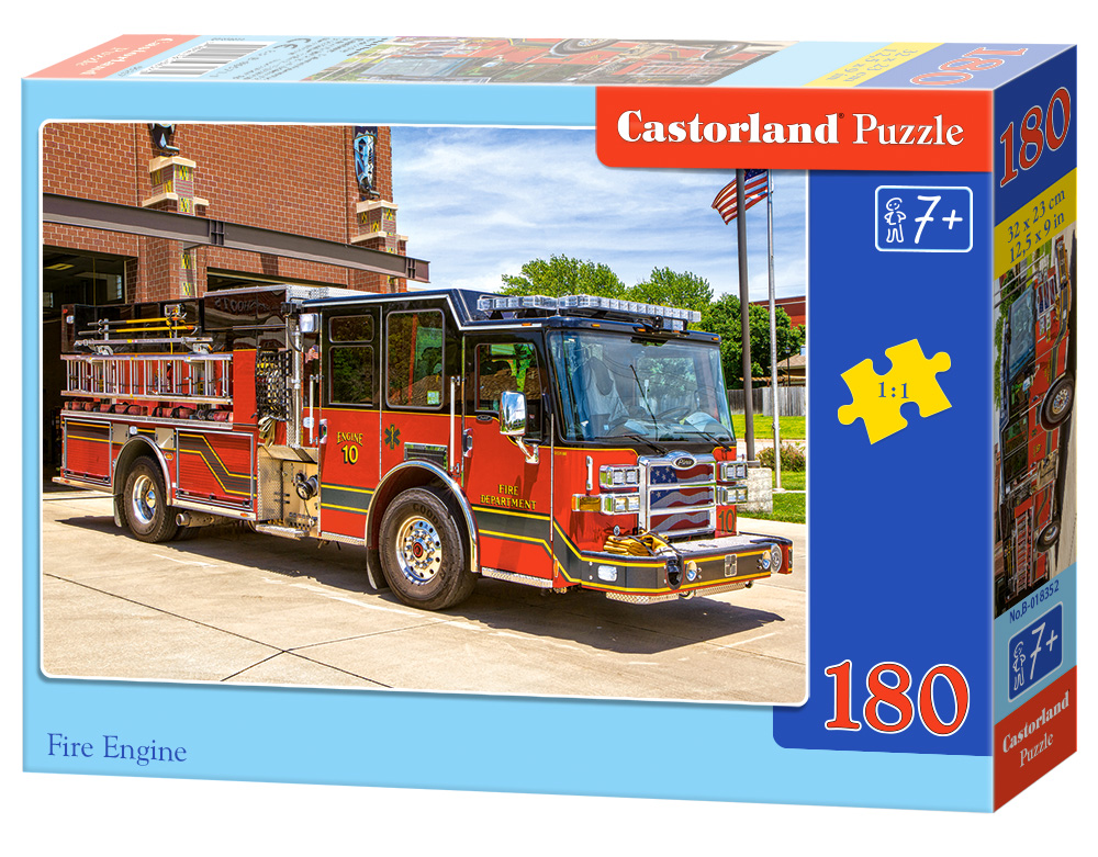 Castorland Puzzle Fire Engine 180 dielikov