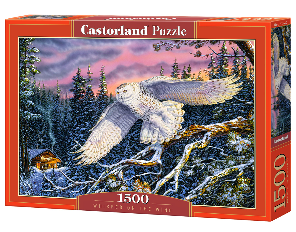Puzzle Castorland Whisper on the Wind 1500 Dielikov