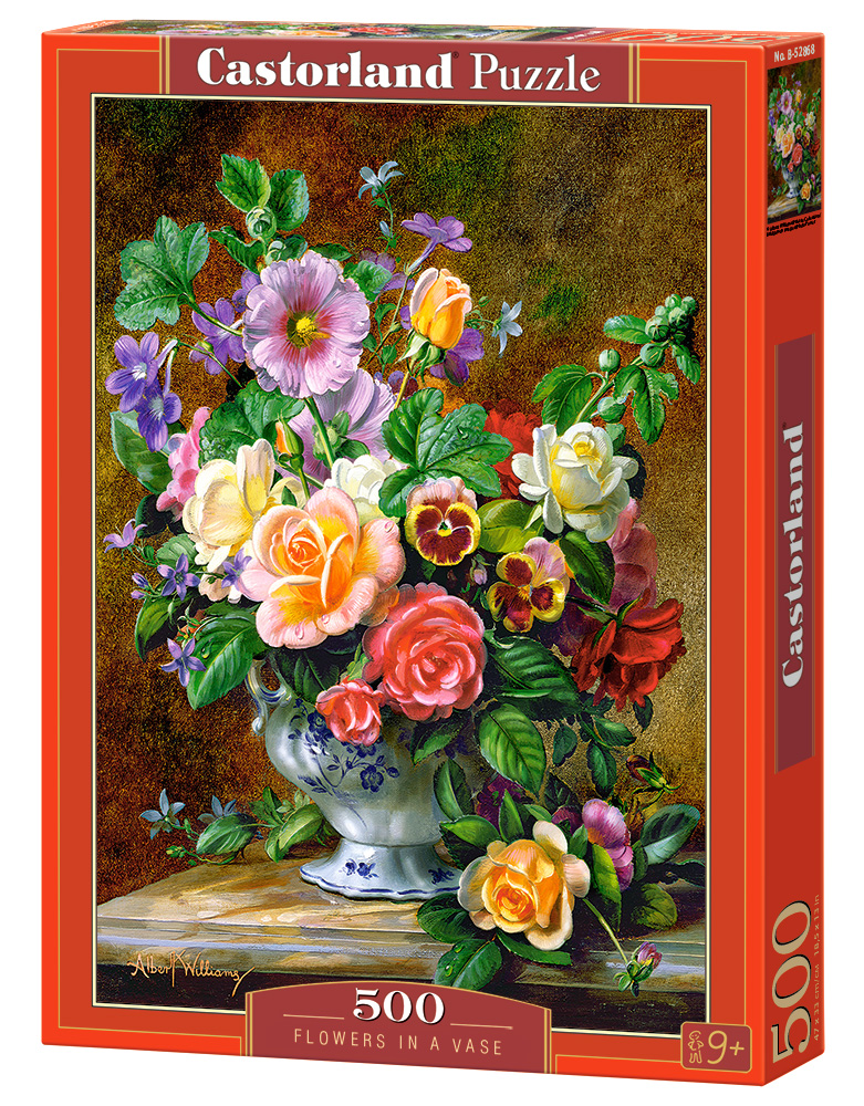 Castorland Puzzle Flowers in a Vase 500 Dielikov