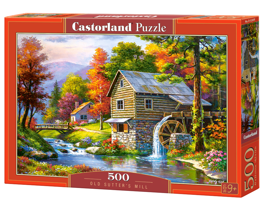 Castorland Puzzle Old Sutter's Mill500 Dielikov