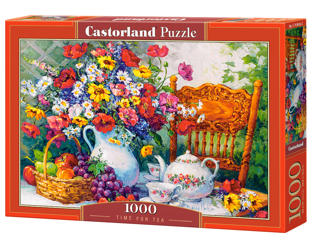 Castorland Puzzle Time for Tea 1000 Dielikov