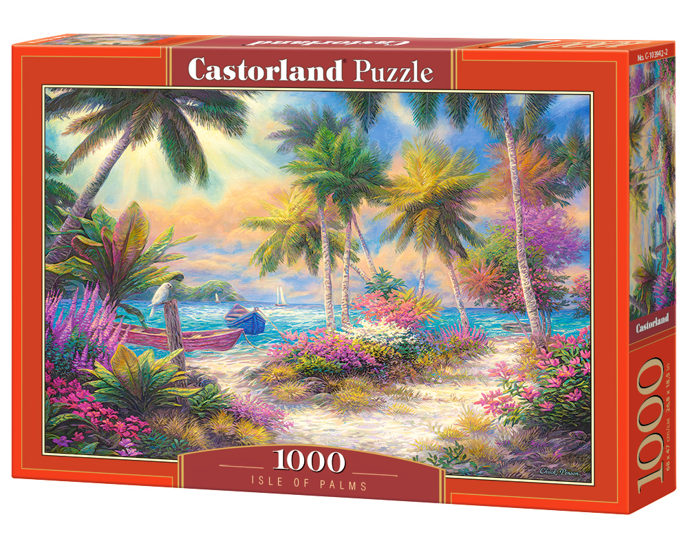 Castorland Puzzle Isle of Palms 1000 Dielikov