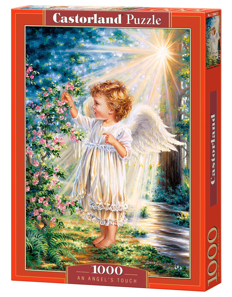 Castorland Puzzle An Angel's Touch 1000 Dielikov