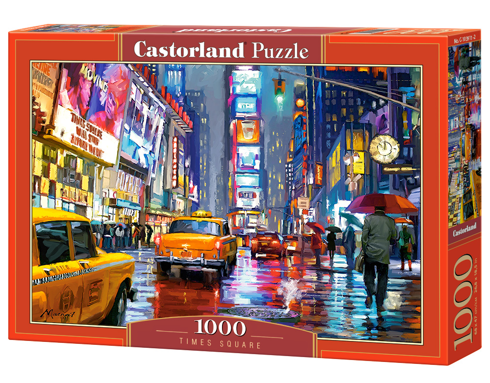 Castorland Puzzle Times Square 1000 Dielikov