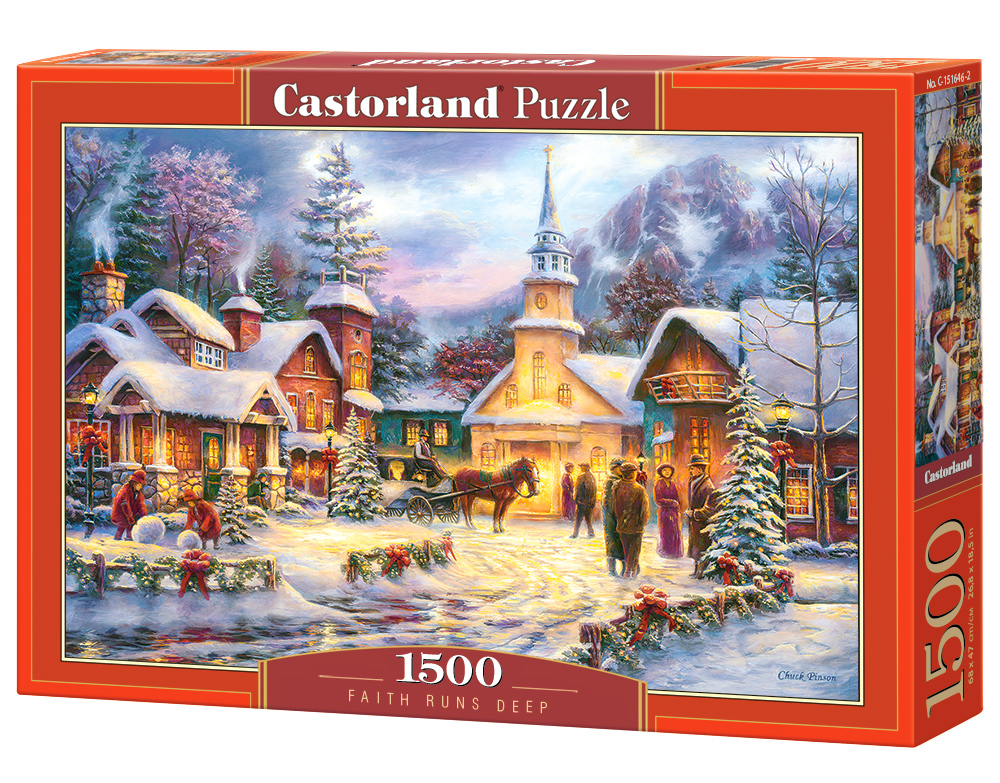 Puzzle Castorland Faith Runs Deep 1500 Dielikov