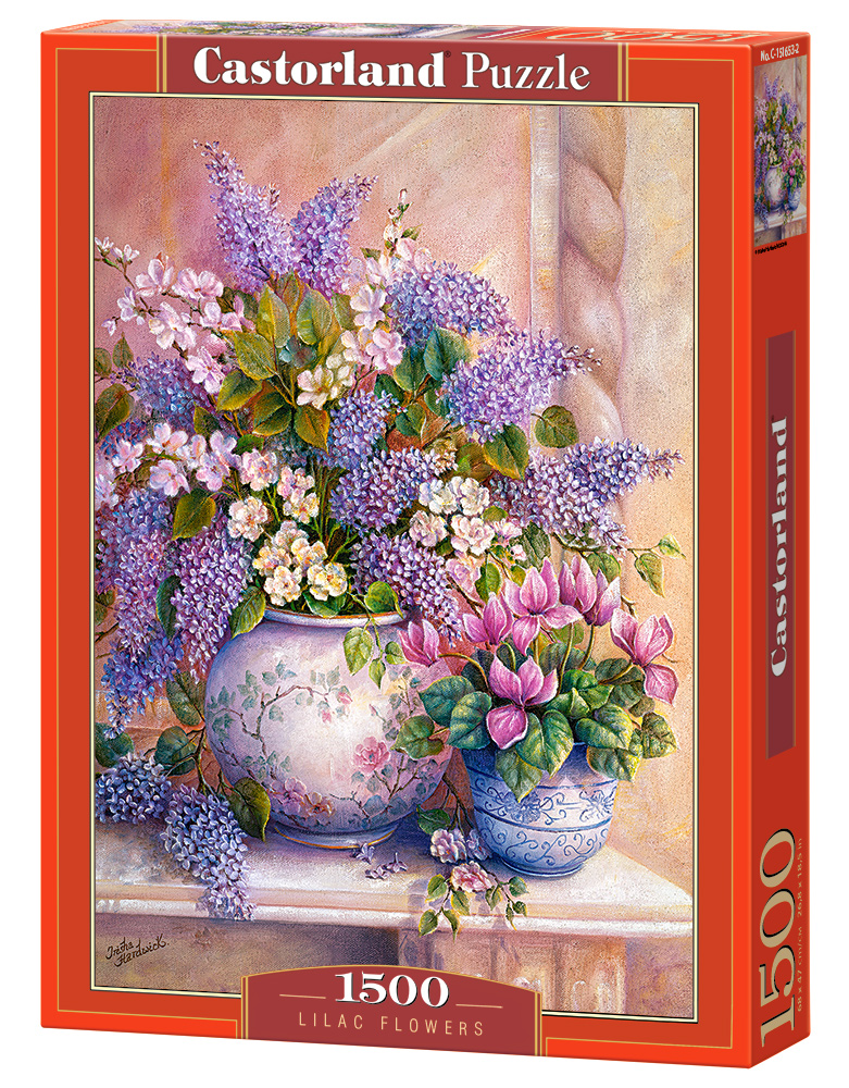 Puzzle Castorland Lilac Flowers 1500 Dielikov