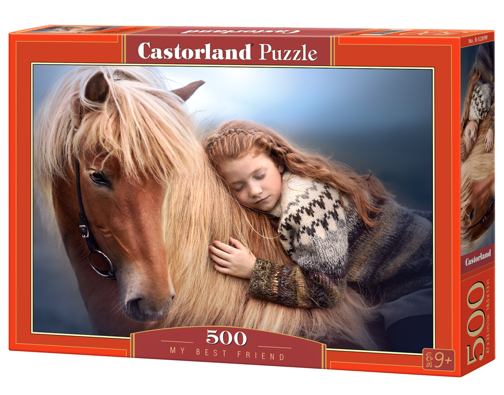 Castorland Puzzle My Best Friend 500 Dielikov
